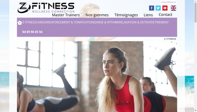 Site internet de Z'Fitness