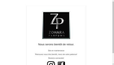 Site internet de Zohara International