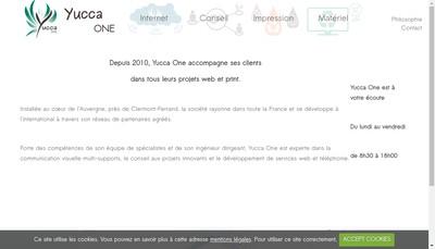 Site internet de Yucca One