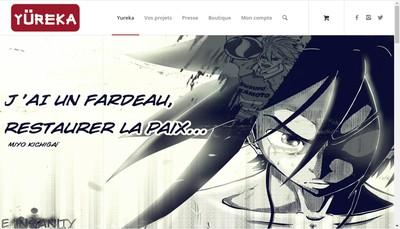 Site internet de Yureka Editions