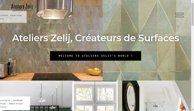 Site internet de Zelij