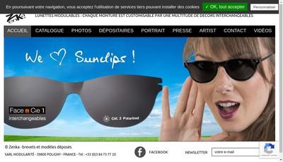 Site internet de Themata Design et Zenka Diffusion