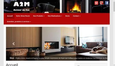 Site internet de A2M Autour du Feu