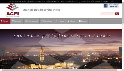 Site internet de Acfi Solutions Idoines