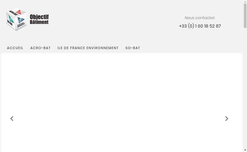 Capture d'écran du site de Acrobat