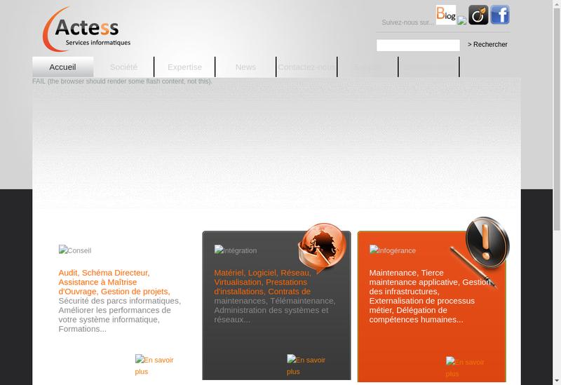 Site internet de Groupe Si2A - Services Numeriques