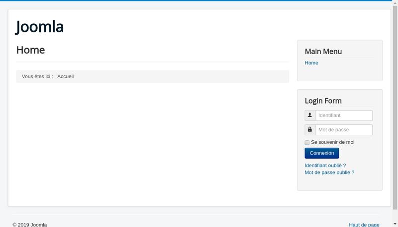Capture d'écran du site de Dufau Conseil