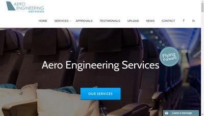 Site internet de Aero Engineering Services