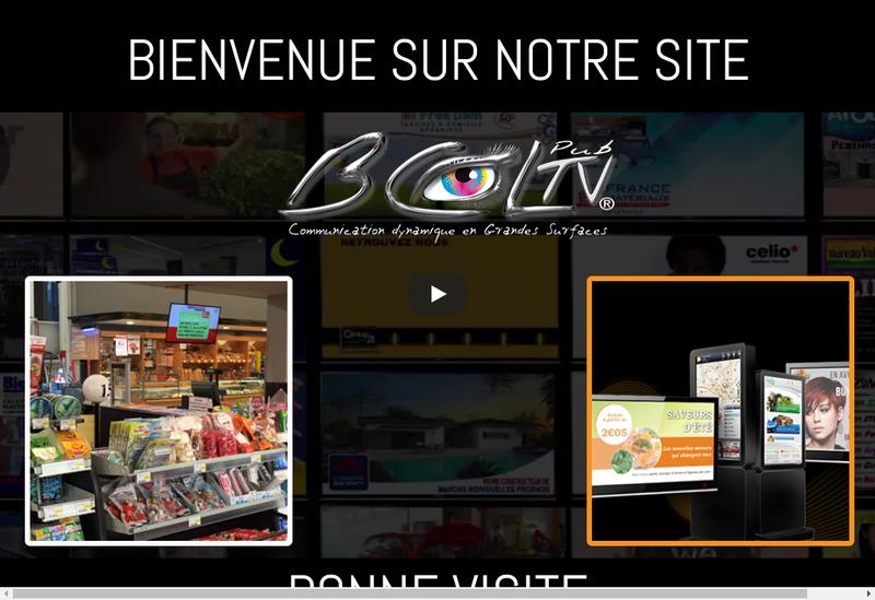 Capture d'écran du site de Bureau de Creation Languedocien