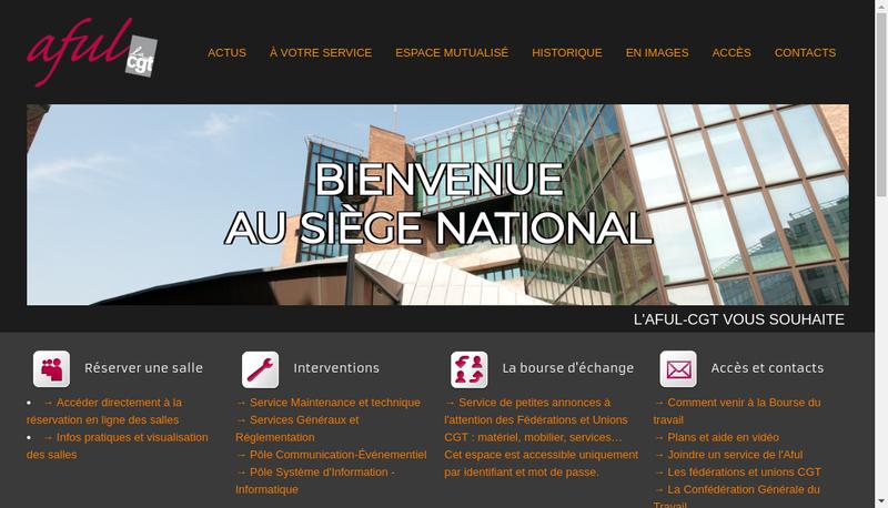 Capture d'écran du site de Ass Fonciere Urbaine Libre Compl Imm C