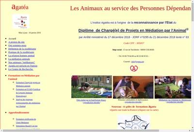 Site internet de Institut de Formation Agatea