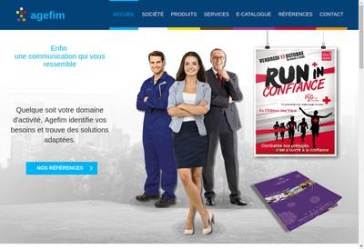 Site internet de Agefim