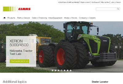 Capture d'écran du site de Treize