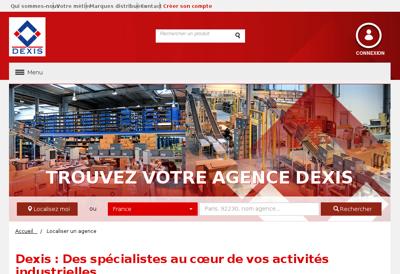 Capture d'écran du site de Demay Lesieur