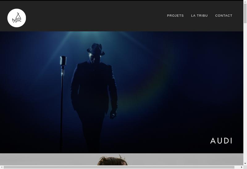 Capture d'écran du site de Arnaud Silberberg