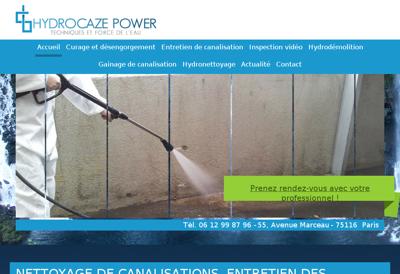 Capture d'écran du site de AGPG