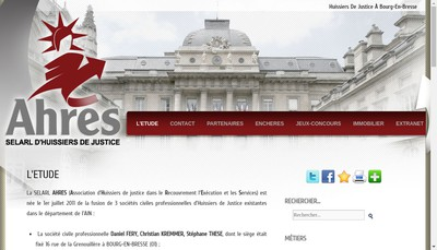Site internet de Ahres