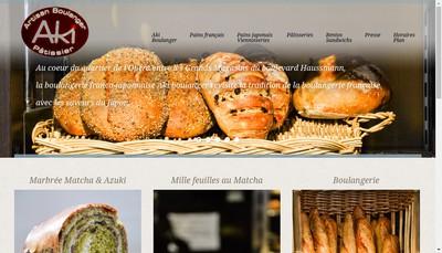 Site internet de Aki Boulanger
