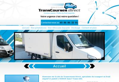 Capture d'écran du site de Etablissements Gilles Davanture