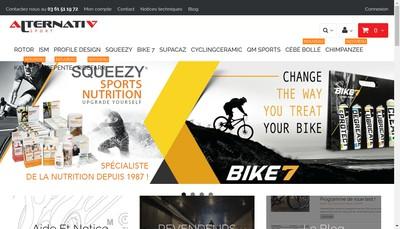 Site internet de Alternativ Sport