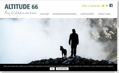 Site internet de Altitude 66