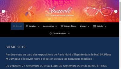 Site internet de Creations Poncet F