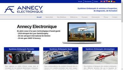 Site internet de Navylec - Exxotest - Psicar - Aircraft Electronic