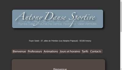 Site internet de Ads Antony