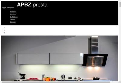 Site internet de Apbz Presta