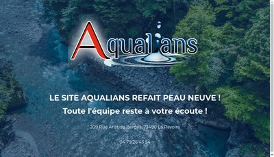 Site internet de Aqualians