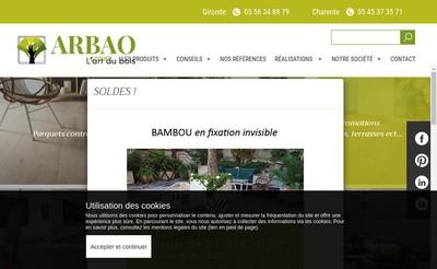 Site internet de Arbao
