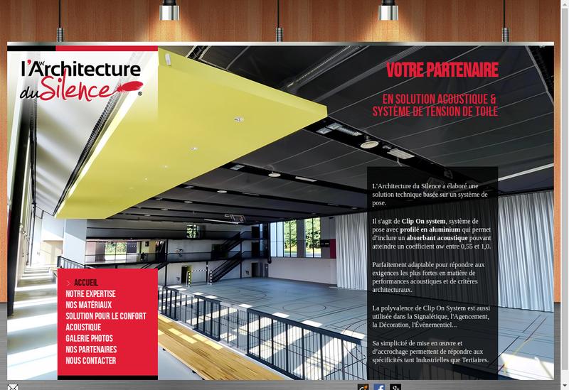 Capture d'écran du site de Architecture Produits Industriels Adap