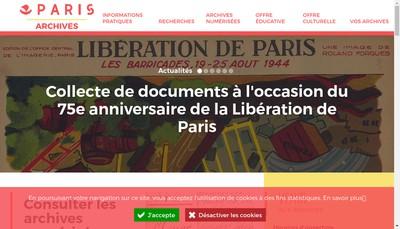 Site internet de Not Archives