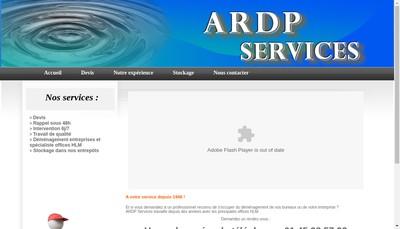 Site internet de Ardp