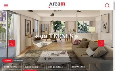Site internet de Aream Capital