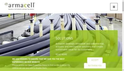 Site internet de Armacell France SA