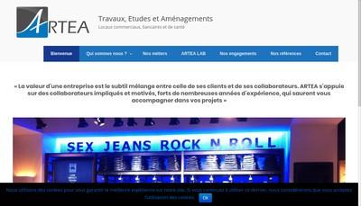 Site internet de Alexandre Ruelle Travaux Etudes Amenagement