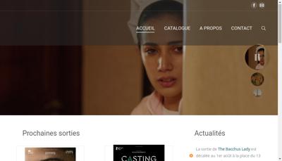 Capture d'écran du site de Asc Distribution