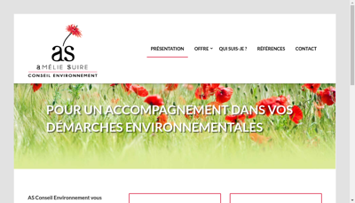 Capture d'écran du site de Auddice Urbanisme