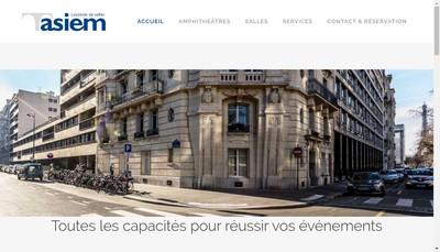 Site internet de Asiem