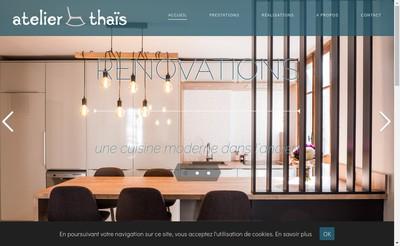 Site internet de Atelier Thais