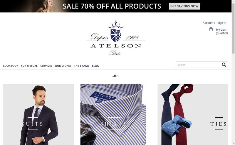 Site internet de Atelson