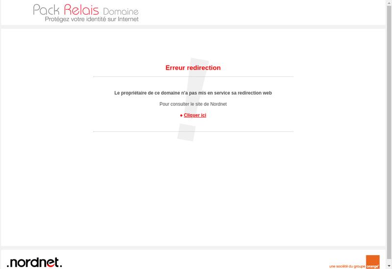 Capture d'écran du site de Attractis