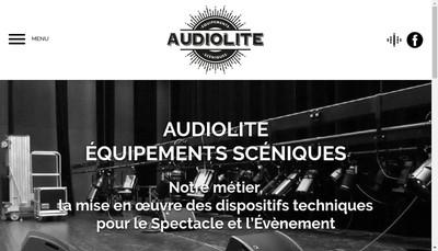 Site internet de Societe Audiolite Sonorisation