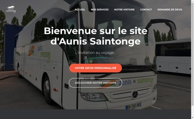 Site internet de Aunis-Saintonge