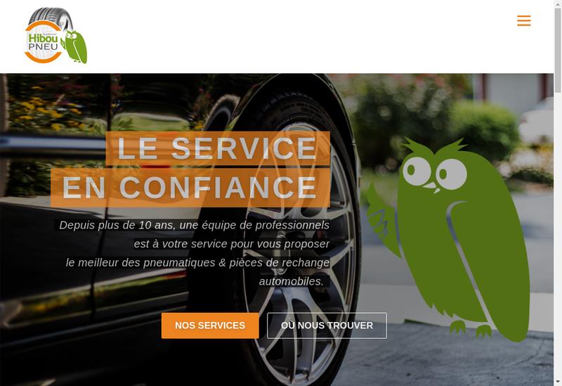Capture d'écran du site de Auto Pro Tech