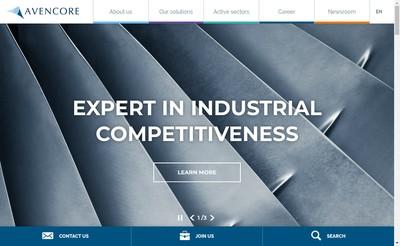 Site internet de Avencore