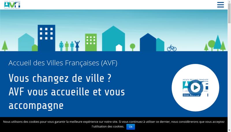 Capture d'écran du site de Union Nat Accueil Ville Fr Dep Adm For