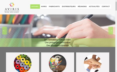 Site internet de Aviris