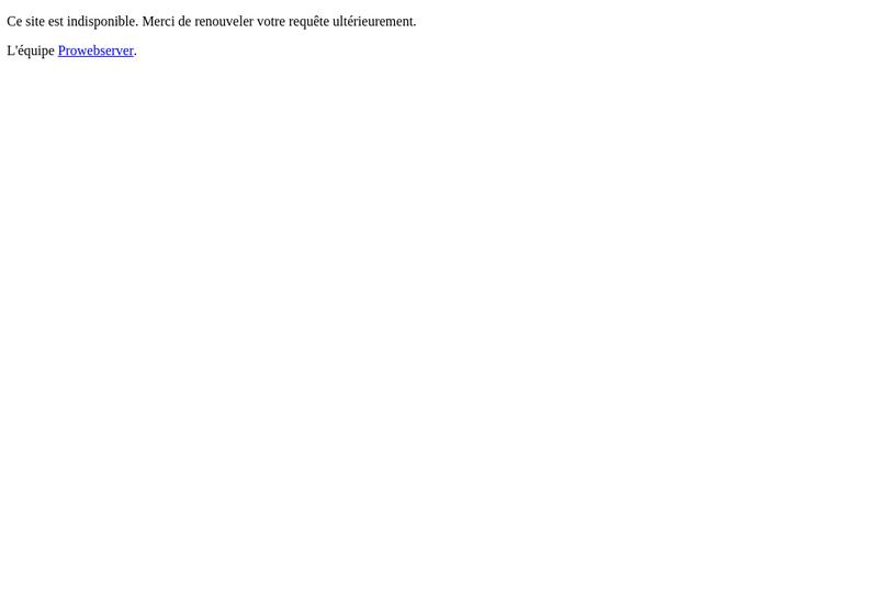 Capture d'écran du site de Baracher Mathat